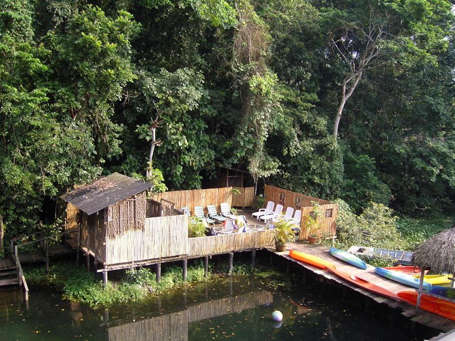 Hospedaje y Alojamiento En La Reserva Ecologica De Nanciyaga Catemaco Veracruz Junto a La Laguna